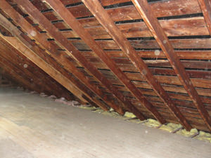 A Florida attic before installation of SuperAttic